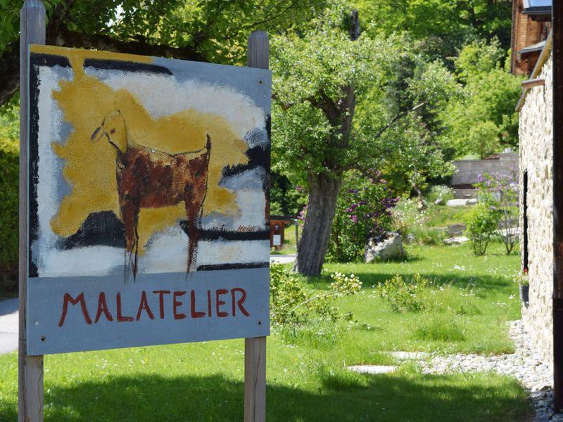 Heidi's Malatelier, Obersaxen