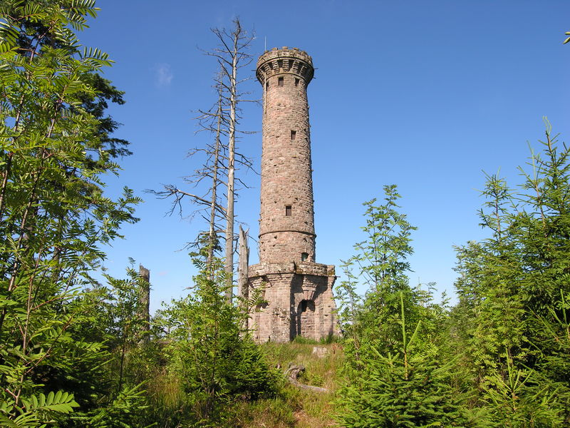 Friedrichsturm auf der Badener Höhe bei Forbach
