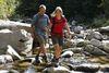 Flussbettwandern in der Murg