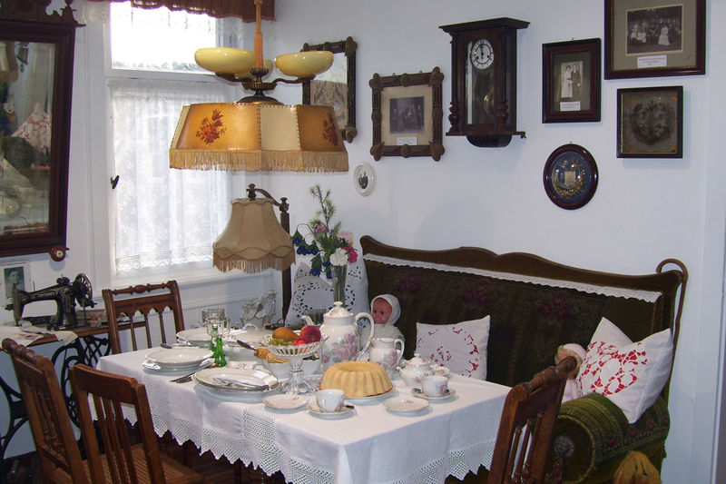 Blick in die Heimatstube Frankenhain, Ferienregion Oberhof