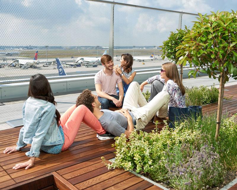 Besucherterrasse Frankfurt Airport