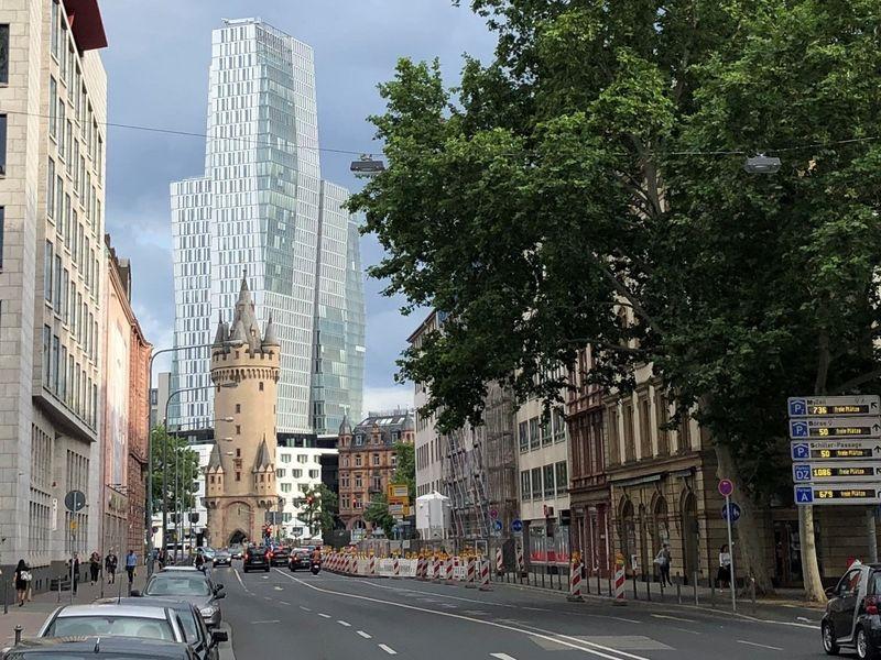 Eschenheimer Tor Frankfurt
