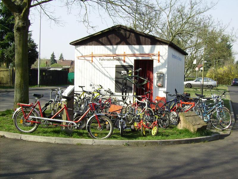 Fahrradverleih am Goetheturm