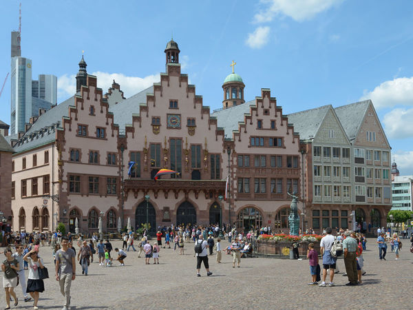 Der Frankfurter Römer, Rathaus der Stadt