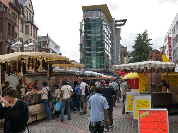 Wochenmarkt Berger Straße
