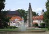 Denkmal und Springbrunnen im Anger in Frankfurt (Oder), Foto: Klaus Köstel/ Stadt Frankfurt (Oder)