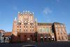 Außenansicht der Rathaushalle, Foto: Marlies Kross