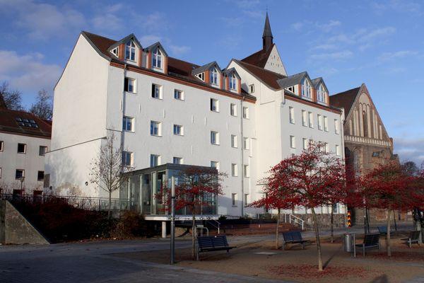 Altes Gefängnis des Gedenk- und Dokumentationszentrums Frankfurt (Oder), Foto: Karl-Konrad Tschäpe