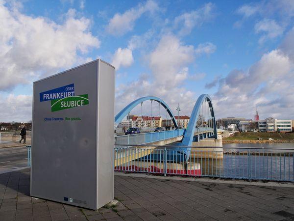 Stadtbrücke Frankfurt (Oder), Foto: Angelika Laslo