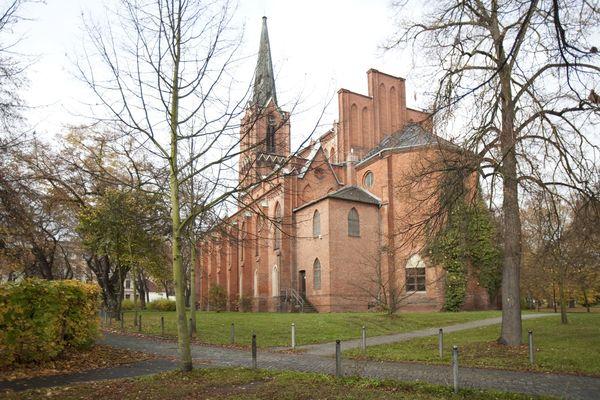 Kirche St. Gertraud Frankfurt (Oder), Foto: Joanna Kosowska