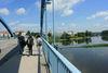 Auf der Stadtbrücke Frankfurt (Oder), Foto: terra press Berlin