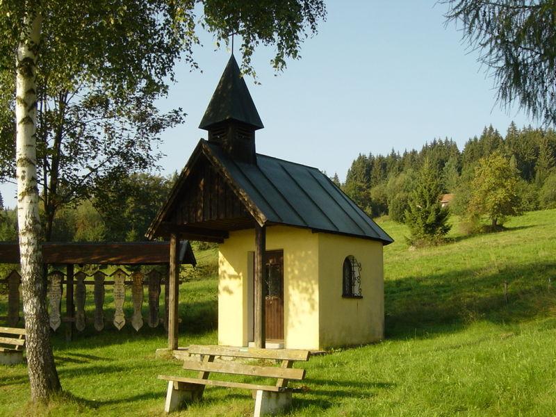Die Dorfkapelle im Ortsteil Reifberg der Gemeinde Frauenau im ArberLand Bayerischer Wald