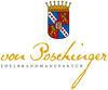 Logo der Freiherr von Poschinger Edelbrandmanufaktur in Frauenau