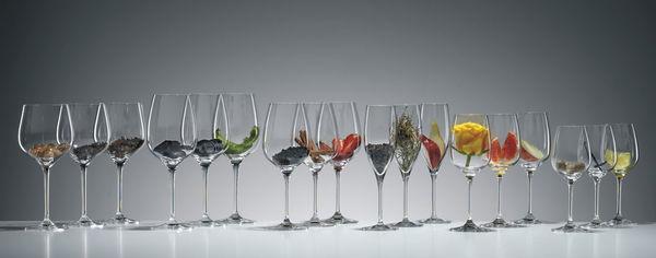 Aromengläser der Glashütte Eisch