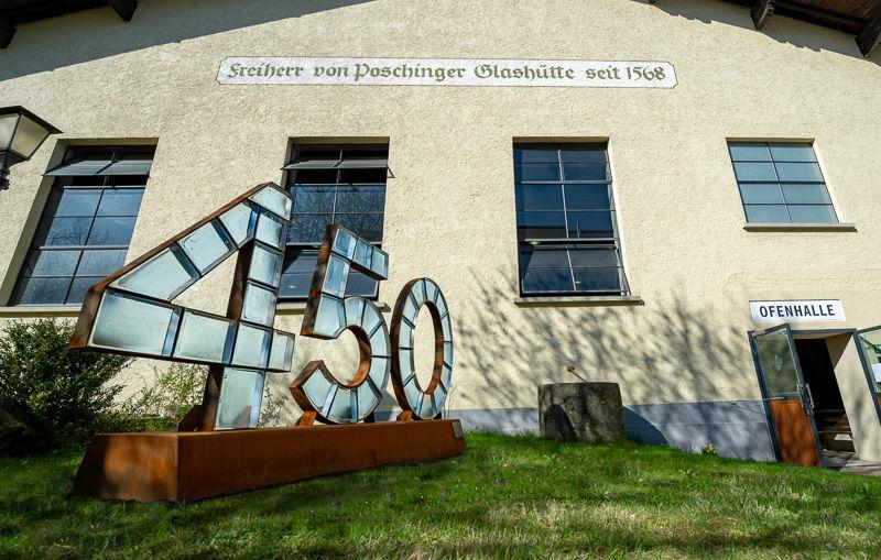 Die  Freiherr von Poschinger Glasmanufaktur gibt es seit mehr als 450 Jahren