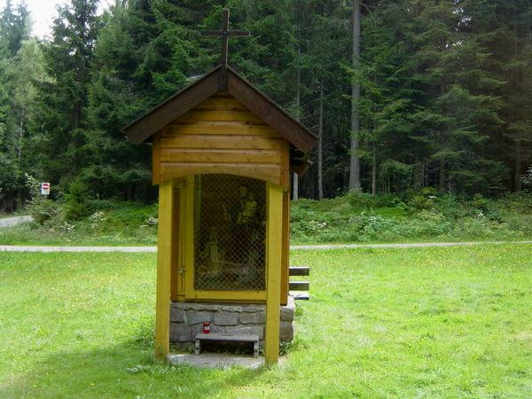 Josefi-Kapelle im Bärnzeller Hochwald in der Gemeinde Frauenau im ArberLand Bayerischer Wald