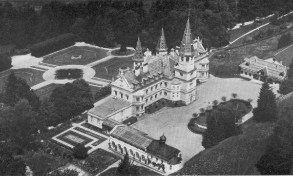 Ehemaliges Schloss Oberfrauenau im ArberLand Bayerischer Wald