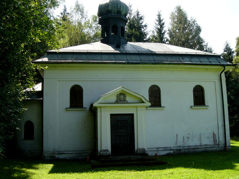 Schlosskapelle in Oberfrauenau in der Gemeinde Frauenau im ArberLand Bayerischer Wald