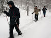 Schneeschuhtour durch den tief verschneiten Nationalpark Bayerischer Wald