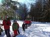Familien-Schneeschuhwanderung durch den Nationalpark Bayerischer Wald