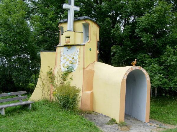 St. Hermann-Kapelle auf der Zell in der Gemeinde Frauenau im ArberLand Bayerischer Wald