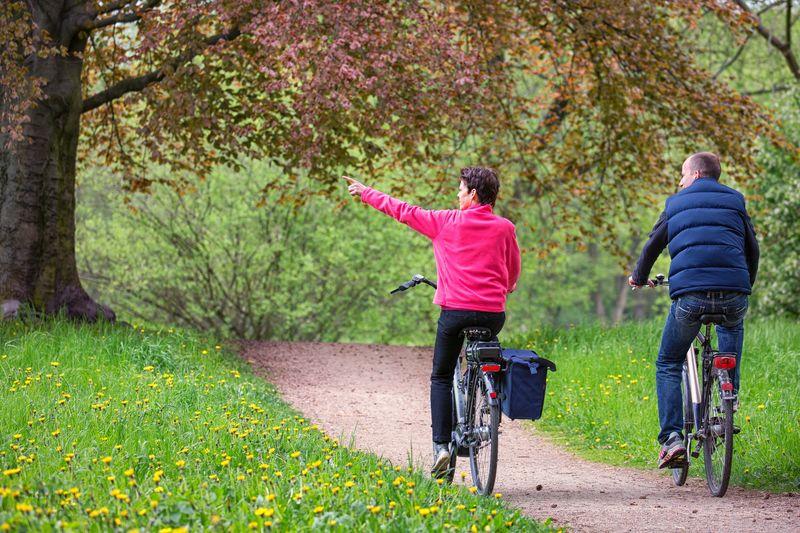 Radfahrer, Foto: Seenland Oder-Spree e.V./Florian Läufer