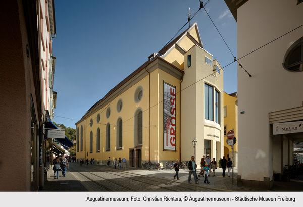 Museo nell'ex convento agostiniano, veduta esterna