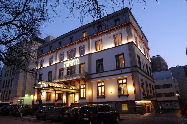 Best Western Premier Hotel Victoria di notte
