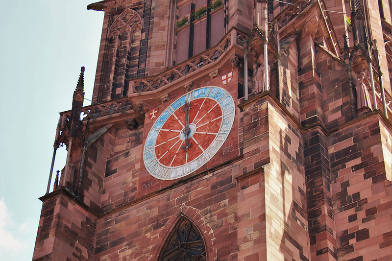 Freiburg Münsteruhr