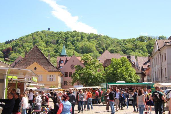 Cathedral Market Freiburg