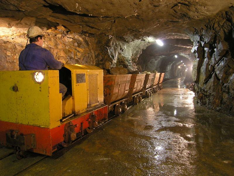 Grubenzug Museums-Bergwerk Schauinsland