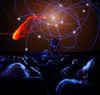 Planetarium audience solar system