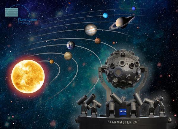 Planetario Starmaster sistema solare