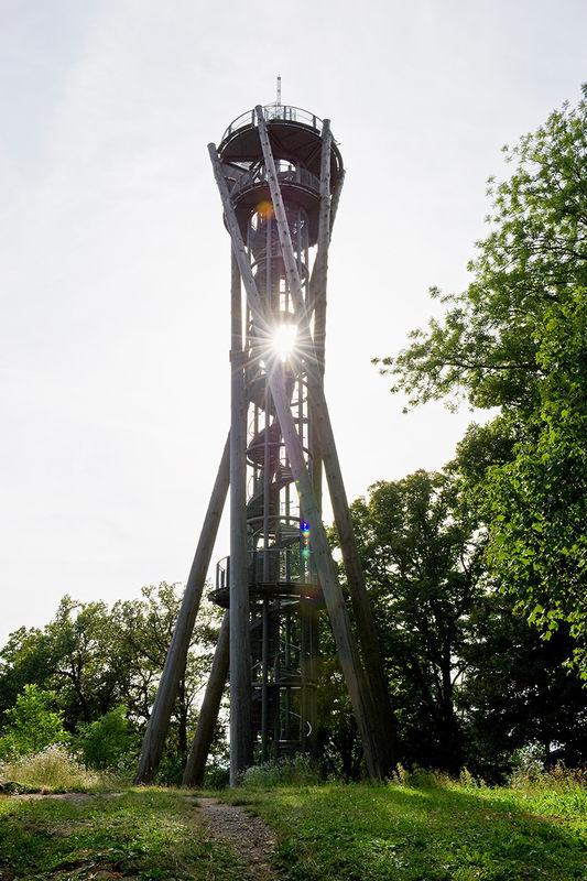 La torre dello Schlossberg