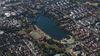 Parque del Lago Friburgo imagen aérea