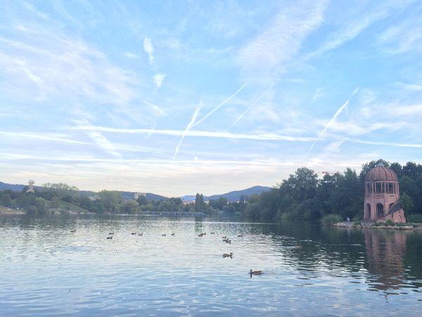Parc bordant le lac Fribourg