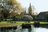 Giardini pubblici con vista sulla cattedrale