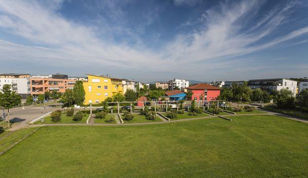 Quartier Rieselfeld Fribourg