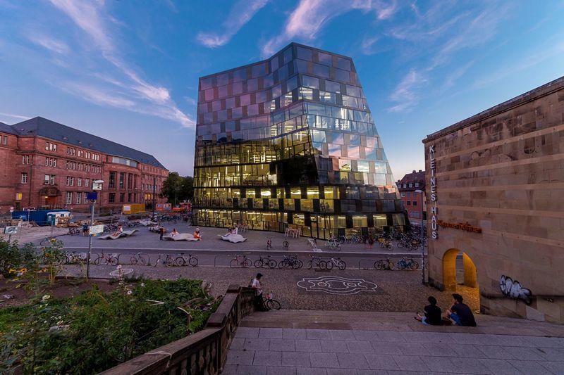 Nouvelle bibliothèque universitaire