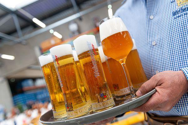 Bierverkostung im Bräustüberl Weihenstephan in Freising