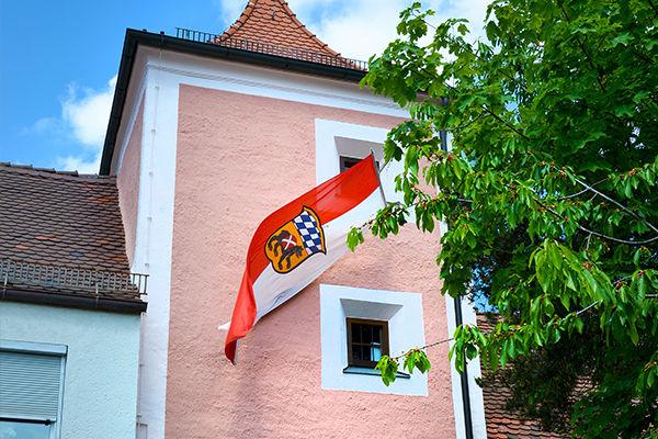 Bürgerturm in der Altstadt Freising