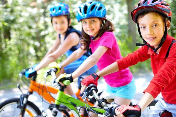 Radspaß auch für die Kleineren auf der Kindertour