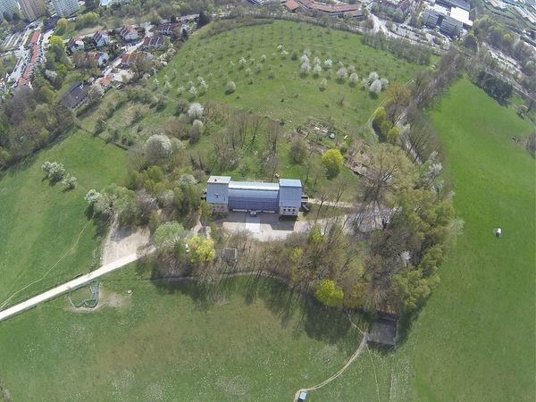 Luftbild vom Schafhof