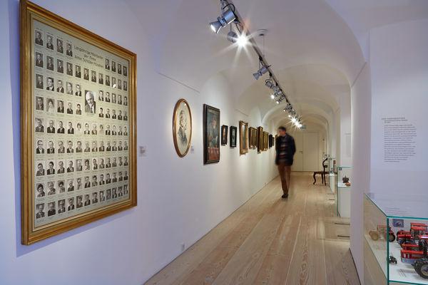 Innenansicht des Freisinger Stadtmuseums