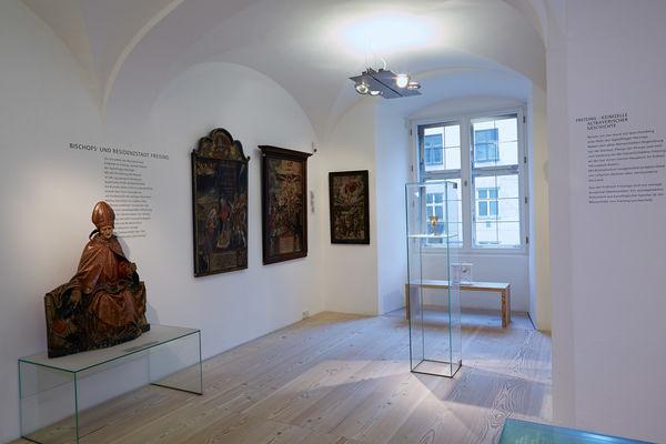 Austellungsstücke im Freisinger Stadtmuseum