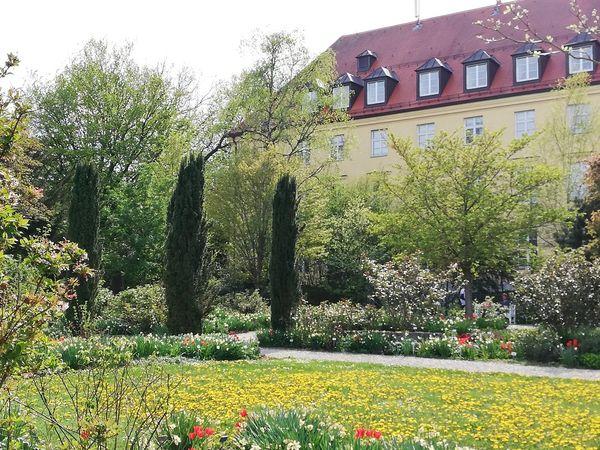 Oberdieckgarten in den Weihenstephaner Gärten in Freising
