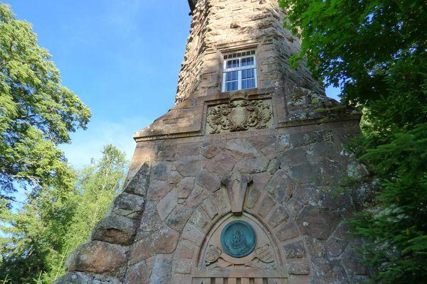 Der Friedrichsturm auf dem Kienberg Freudenstadt