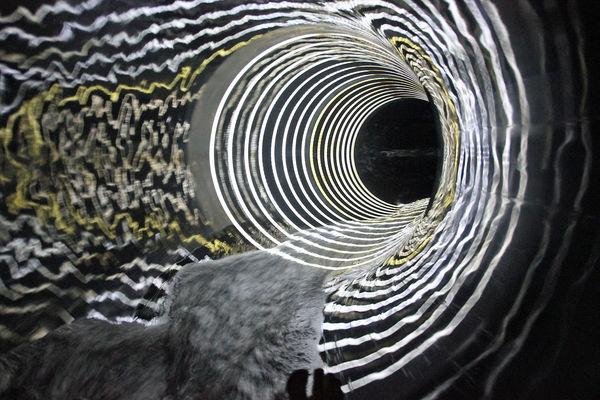 die neue Black Hole Rutsche