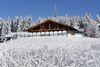 Kniebis-Hütte im Winter