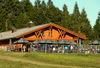 Kniebis-Hütte im Sommer